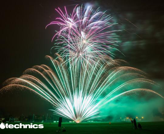 Pyromusical Fireworks Still