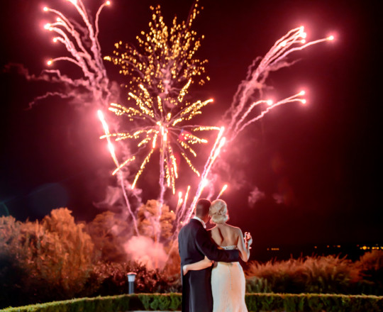 Stunning Wedding Fireworks